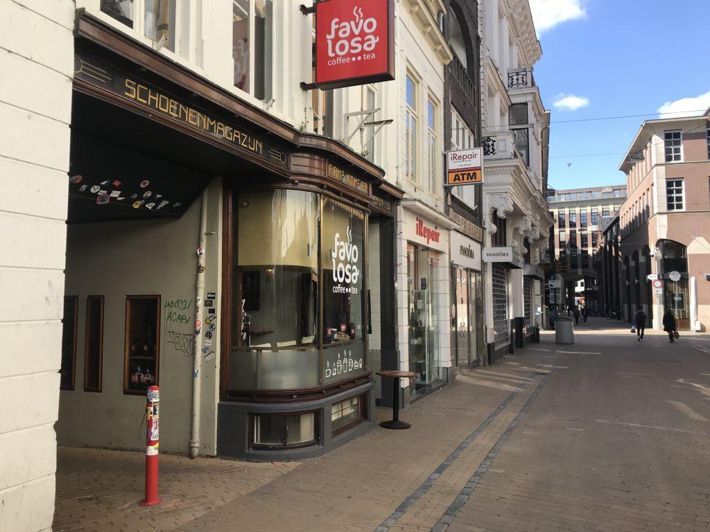espressobar te koop aan herestraat groningen