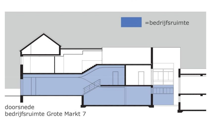 Casco horecapand Grote Markt Venray te koop of te huur (213-530m², huur: 45.000 – 75.000 p.j.)